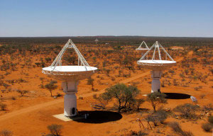 Image produced by 6 ASKAP antennas