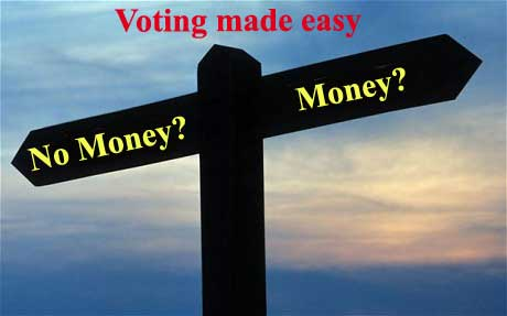 Money and voting