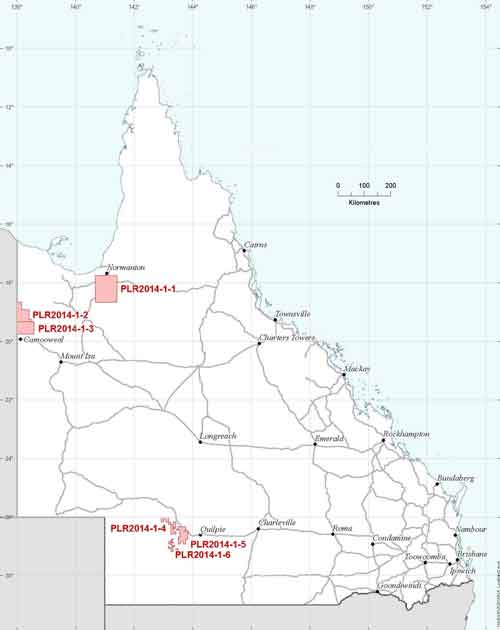 QLD petroleum acreage release 04 April 2014